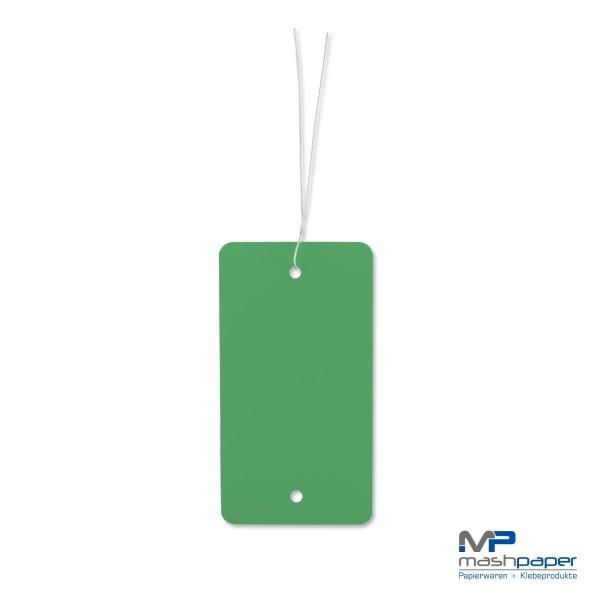 66000101 Kunststoffetiketten papierumklebt grün 65x120mm mit Draht_14132