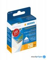 250 Transparol Fotoecken im Kartonspender / HERMA 1380