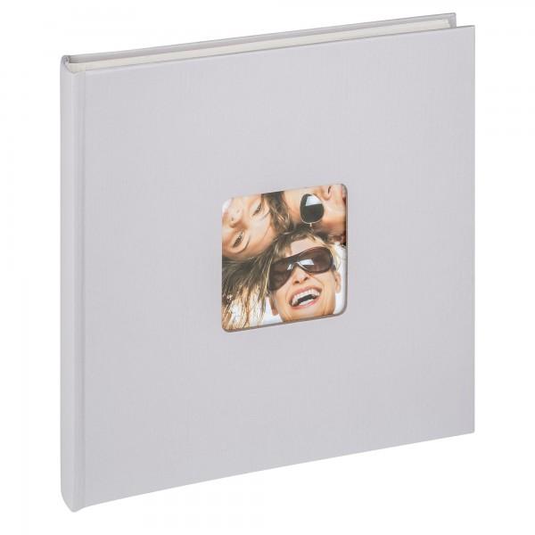 Designalbum Fun, hellgrau, 26x25 cm